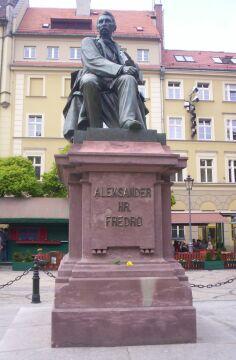 Pomnik Aleksandra hrabiego Fredry