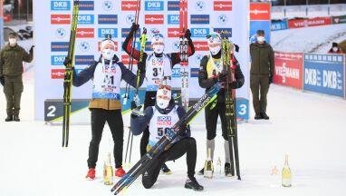 Norwescy biathloniści zdominowali sprint w Hochfilzen