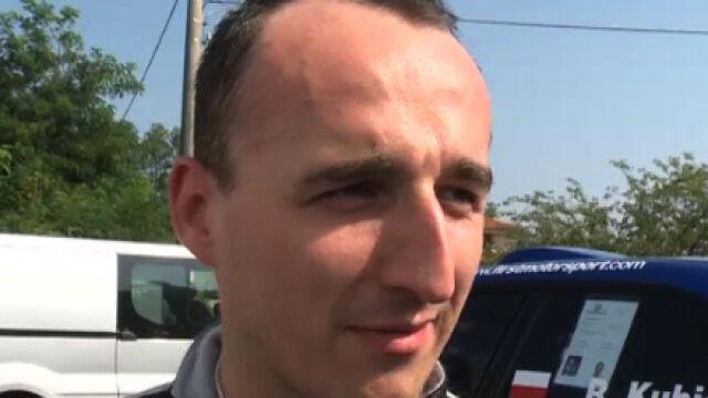 Kubica wrócił po wypadku