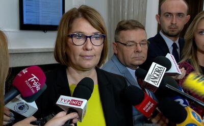 Mazurek: nie jestem zaskoczona orzeczeniem Trybunału