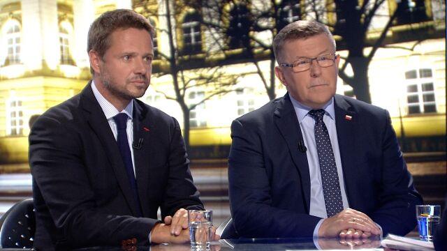 """Gośćmi """"Faktów po Faktach"""" byli Rafał Trzaskowski i Zbigniew Kuźmiuk"""