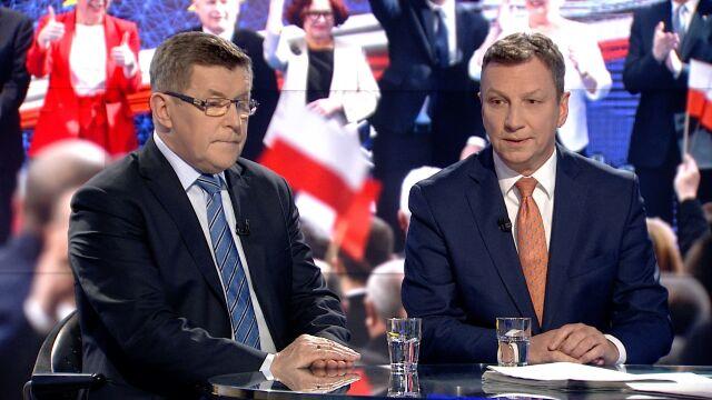 """Zbigniew Kuźmiuk i Andrzej Halicki w """"Faktach po Faktach"""""""