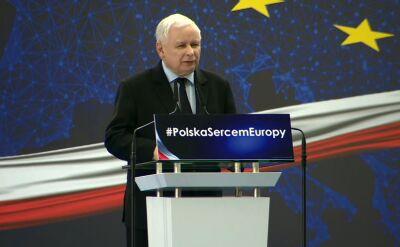 Prezes PiS: mamy wielkie zagrożenie - atak na rodzinę, atak w istocie na dzieci