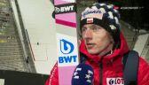 Dawid Kubacki po kwalifikacjach w Oslo