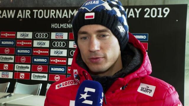 """Stoch gotowy na maraton skoków. """"Profil skoczni w Oslo jest przyjazny"""""""