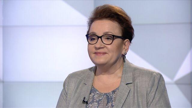 """Anna Zalewska w """"Rozmowie Piaseckiego"""""""