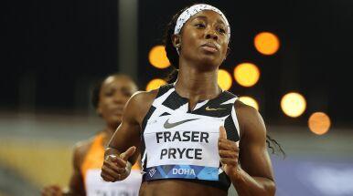 Faworytka igrzysk zbliżyła się do 33-letniego rekordu świata w biegu na 100 m