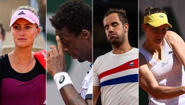 Zapaść francuskiego tenisa.