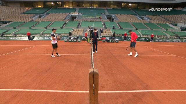 Skrót meczu Federer – Koepfer w 3. rundzie French Open