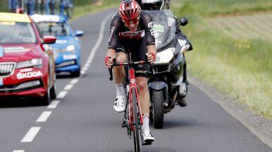 Belg najlepszy na początku wyścigu Criterium du Dauphine
