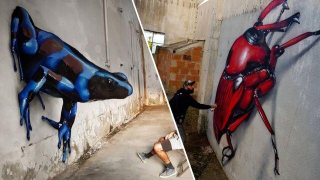 Chciał stworzyć coś nowego, teraz maluje graffiti na całym świecie
