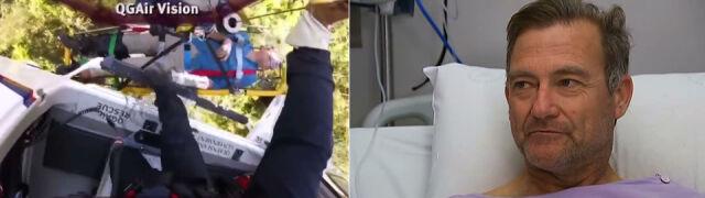 """""""Przez dwa dni czołgałem się, ciągnąc za sobą złamaną nogę"""""""