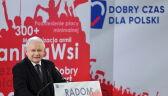 Kaczyński: nasi przeciwnicy próbują wmówić ludziom, że nasza polityka społeczna doprowadzi do katastrofy, to kłamstwo