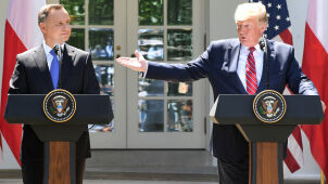 Duda leci do USA, spotka się z Trumpem.