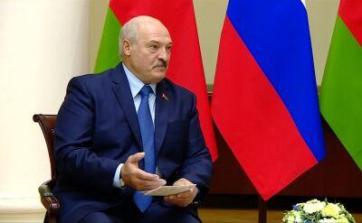 Łukaszenka podczas spotkania z Putinem
