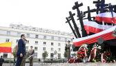 Premier złożył wieniec przed Pomnikiem Poległym i Pomordowanym na Wschodzie