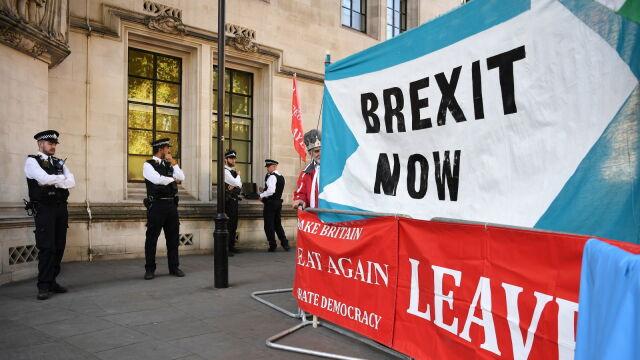 Londyn przesłał Brukseli dokumenty w sprawie brexitu