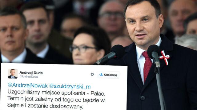 Dwugłos ws. dymisji rządu. Prezydent tłumaczy na Twitterze