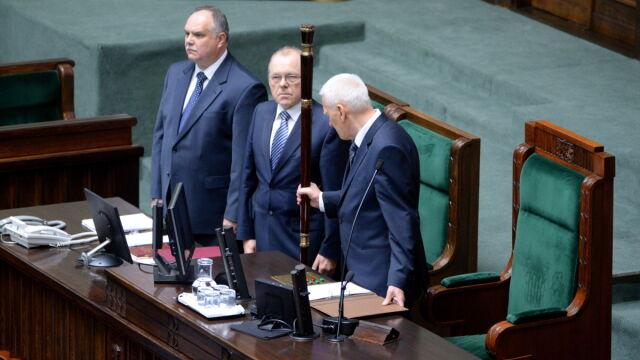 Marszałek senior otworzył pierwsze posiedzenie Sejmu VIII kadencji