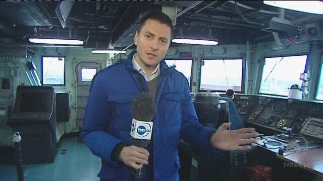 W Gdyni można wylicytować rejs fregatą rakietową (TVN24)