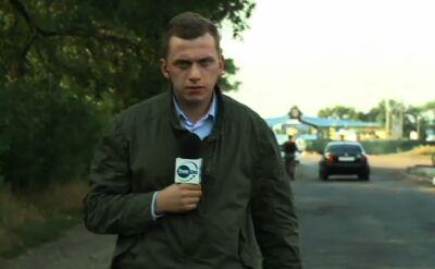 Reporter TVN24 na przejściu granicznym: nie wiadomo, gdzie ten konwój się znajduje