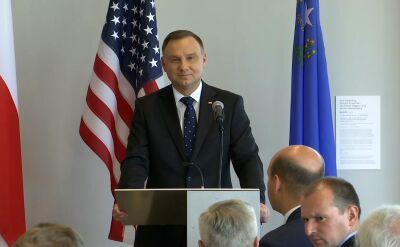 Prezydent o współpracy z władzami stanu Nevada