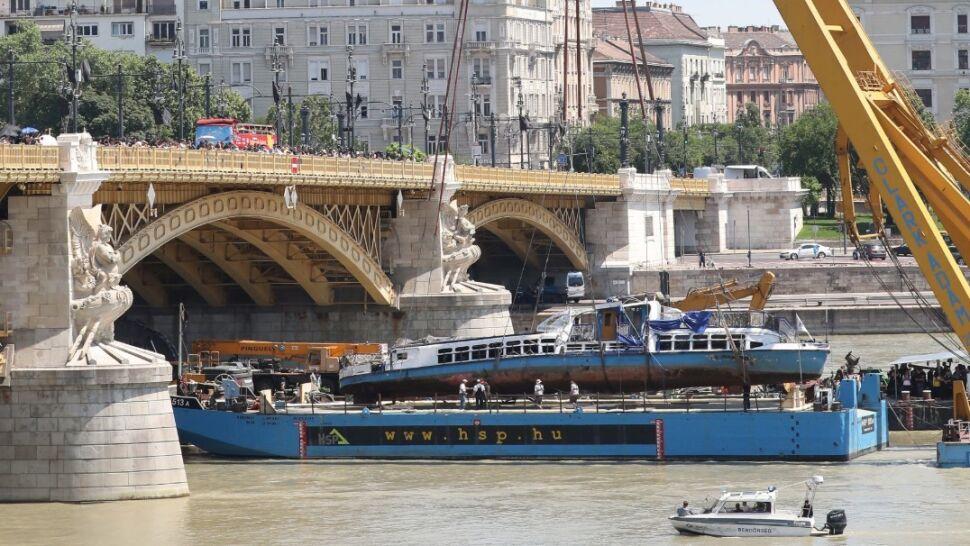 Po tragedii na Dunaju. Kapitan może wyjść za kaucją, nie wolno mu opuścić Budapesztu