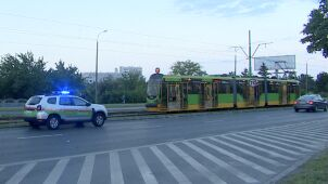 8-latek zginął pod kołami tramwaju. Miał czerwone, tak jak motornicza