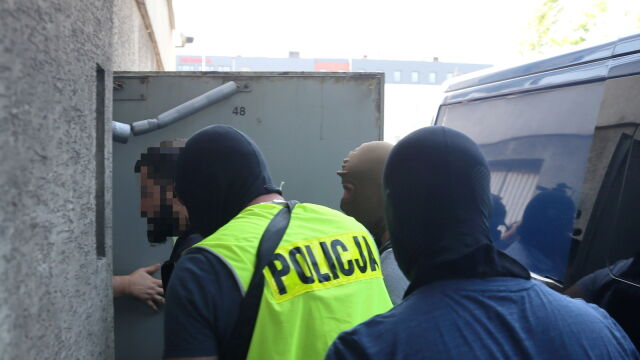 Były zawodnik MMA Mamed K. doprowadzony do prokuratury w Katowicach