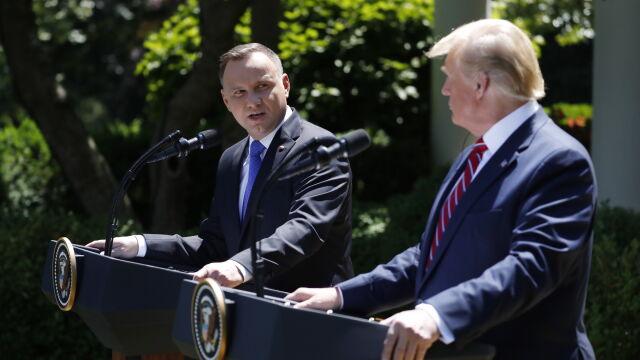 Prezydent Duda o zwiększonej obecności wojsk USA w Polsce: podział kosztów jest dla mnie naturalny