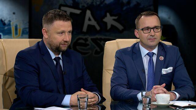 Michał Cieślak i Marcin Kierwiński w Tak Jest