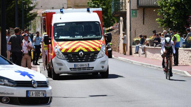 """""""Paskudna kontuzja, uderzył w mur"""". Wykluczony start Froome'a w Tour de France"""