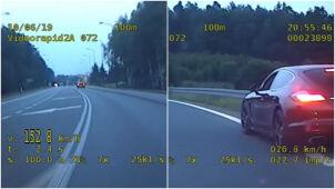 Ponad 150 km/h w obszarze zabudowanym. Kierowca porsche stracił prawo jazdy