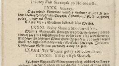 Przepisy na bobry w Compendium ferculorum Stanisława Czernieckiego, Kraków (1682 rok)