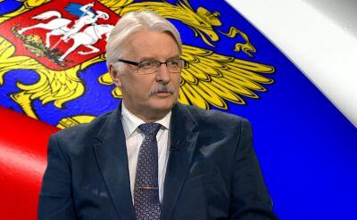 Szef MSZ: to nie my stworzyliśmy epokę lodowcową w stosunkach z Rosją