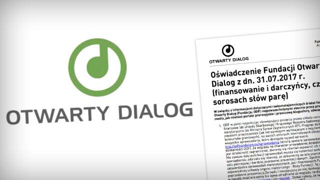 """MSZ chce kontroli w Fundacji Otwarty Dialog. """"Atak na społeczeństwo obywatelskie"""""""