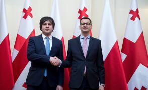 Morawiecki z szefem parlamentu Gruzji