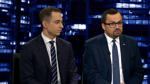 """Cezary Tomczyk i Marcin Horała w """"Kropce nad i"""""""