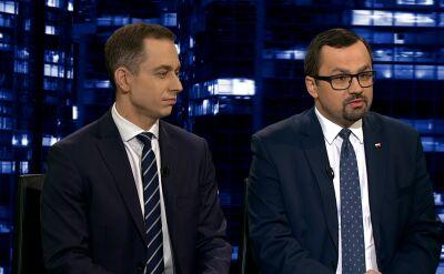 """Tomczyk, Horała, Smolar i Baszczyński w """"Kropce nad i"""""""
