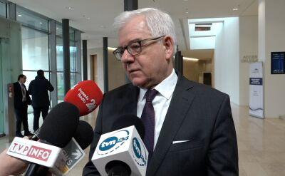 """""""To prawo zostało już zmienione na tyle, że nie ma zarzutów do Polski"""""""