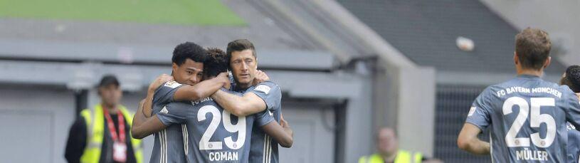 W czwartek pięści z Lewandowskim, w niedzielę dwa gole. Coman bohaterem Bayernu