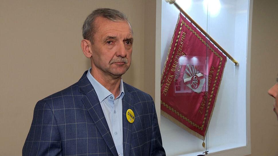 """""""Związek Nauczycielstwa Polskiego oczekuje  w trybie pilnym mediatora ze strony rządowej"""""""