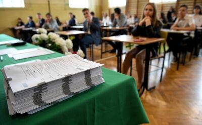 Ostatni gimnazjaliści w historii nie wiedzieli, czy w ogóle napiszą egzamin