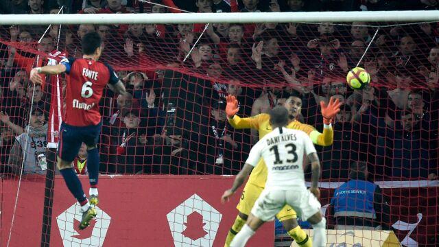 d8f106ae4 Liga francuska. Lille - PSG 5:1. Koronacja paryżan odłożona ...