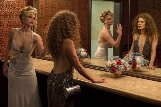 Jennifer Lawrence i Amy Adams