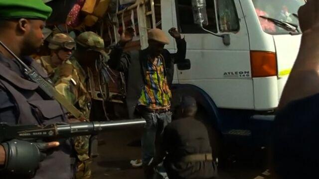 Rebelia w sercu Afryki