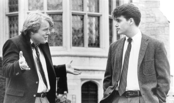 """Philip Seymour Hoffman w """"Zapachu kobiety"""", 1992 rok (z Chrisem O'Donnellem)"""