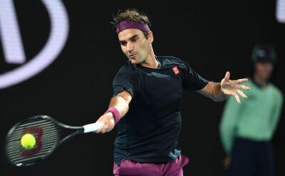 Boskie zagranie Federera w starciu z Krajinoviciem