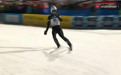 Skok Piotra Żyły z 2. serii konkursu indywidualnego w Zakopanem