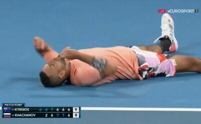 Kyrgios pokonał Chaczanowa w 3. rundzie Australian Open